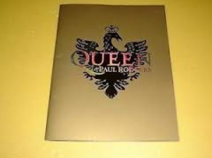 Queen Paul Rodgers 2005 Tourbook
