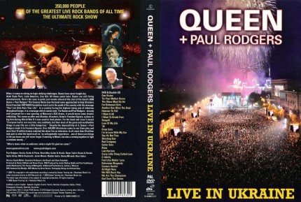 Queen + Paul Rodgers - Live in Ukraine