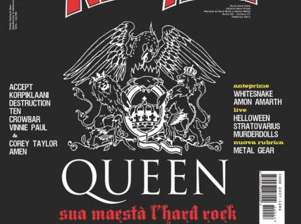 Rock Hard intervista i Queen - maggio 2011