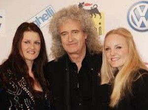 Brian May alla press conference di Sanremo