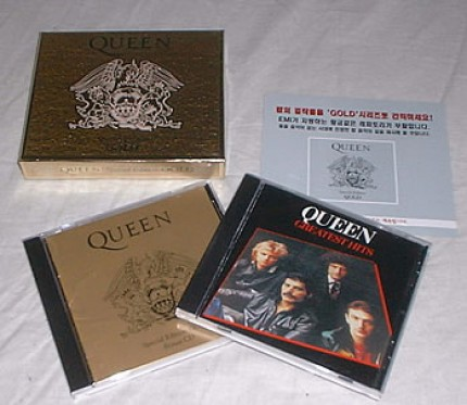 Queen Special Edition Gold