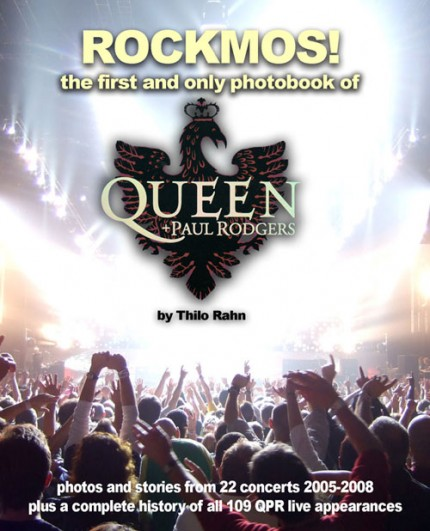 Rockmos – il primo e unico photobook su Queen + Paul Rodgers